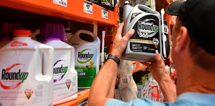 """Principal agente ativo do Roundup é o glifosato, classificado como """"provavelmente cancerígeno"""" por agência da OMS."""