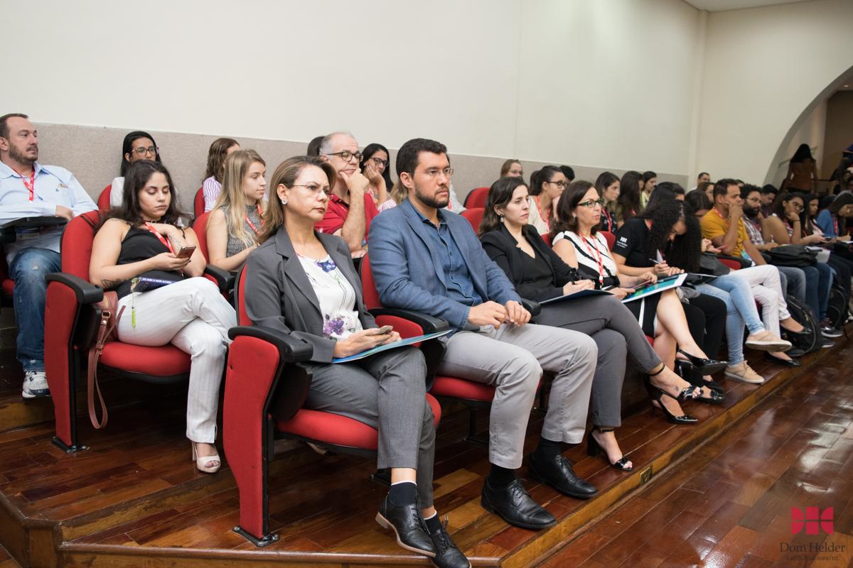 Conferência 'O tratamento da legítima defesa no Projeto Anticrime' durante o I Congresso de Direito Penal na Dom Helder.
