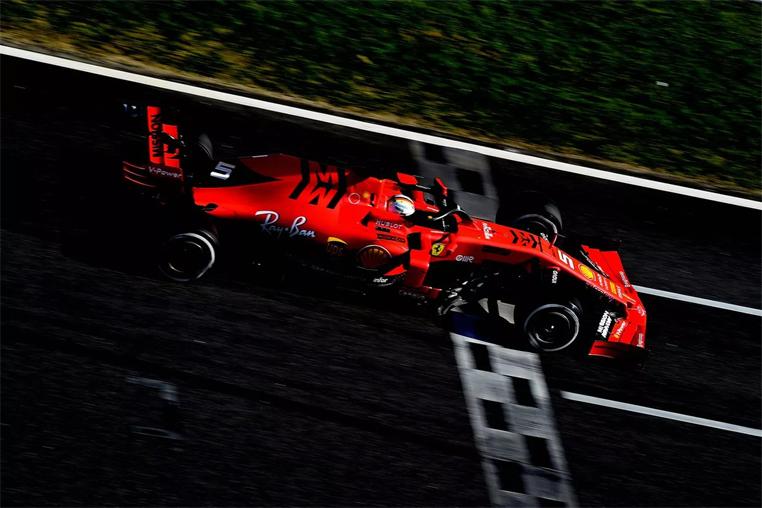 A melhor volta de Vettel, de 1min16s221, nesta sexta-feira foi mais rápida do as de que qualquer outro piloto na Espanha.