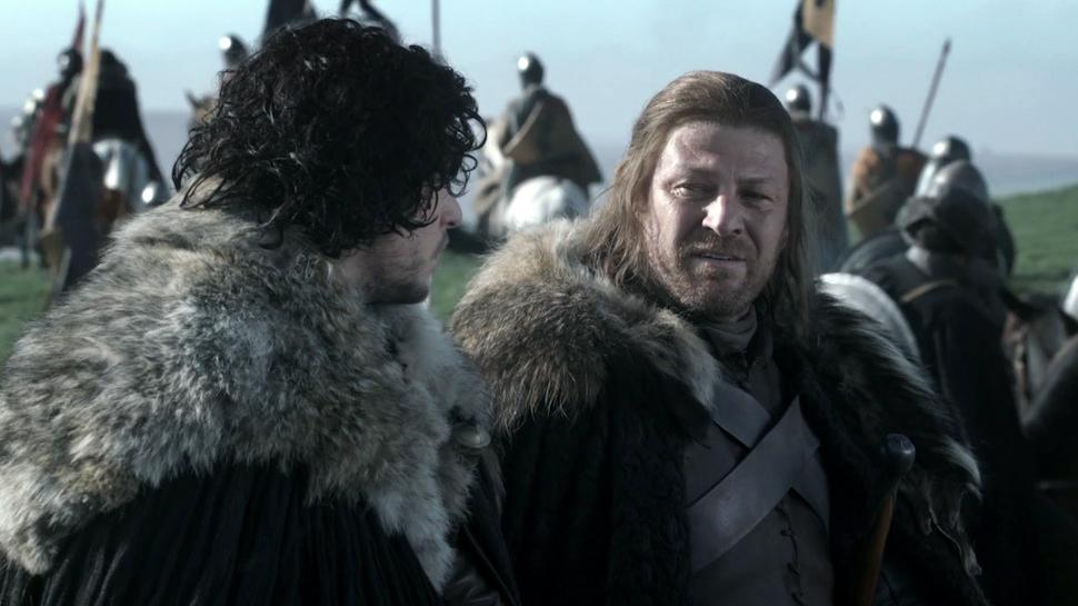 A marcante saga de Ned Stark e as primeiras grandes demonstrações de poder de Daenerys Targaryen foram os destaques do primeiro ano da série.