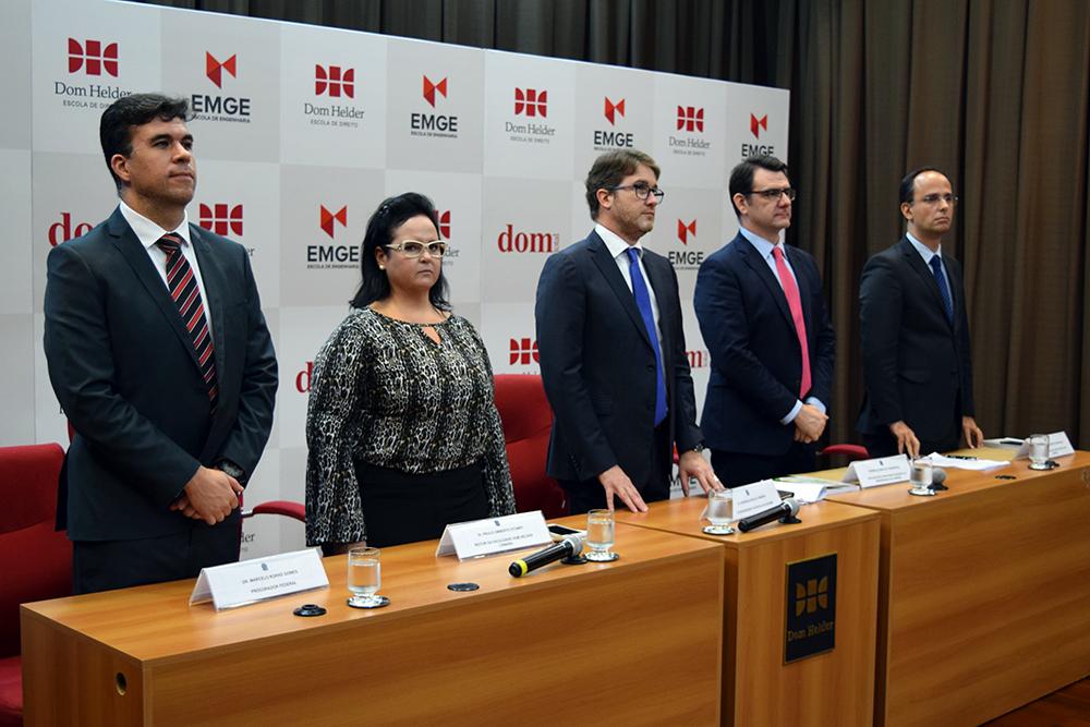 Seminário é promovido pela Escola da AGU em parceria com a Dom Helder.