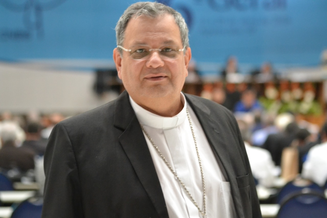 Dom Joel Portella Amado, bispo auxiliar do Rio de Janeiro.