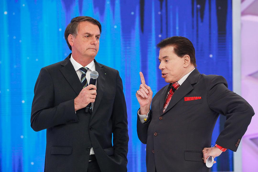 O ponto alto do bate-papo foi quando o patrão comentou a defesa que Bolsonaro faz do cidadão comum poder se armar.