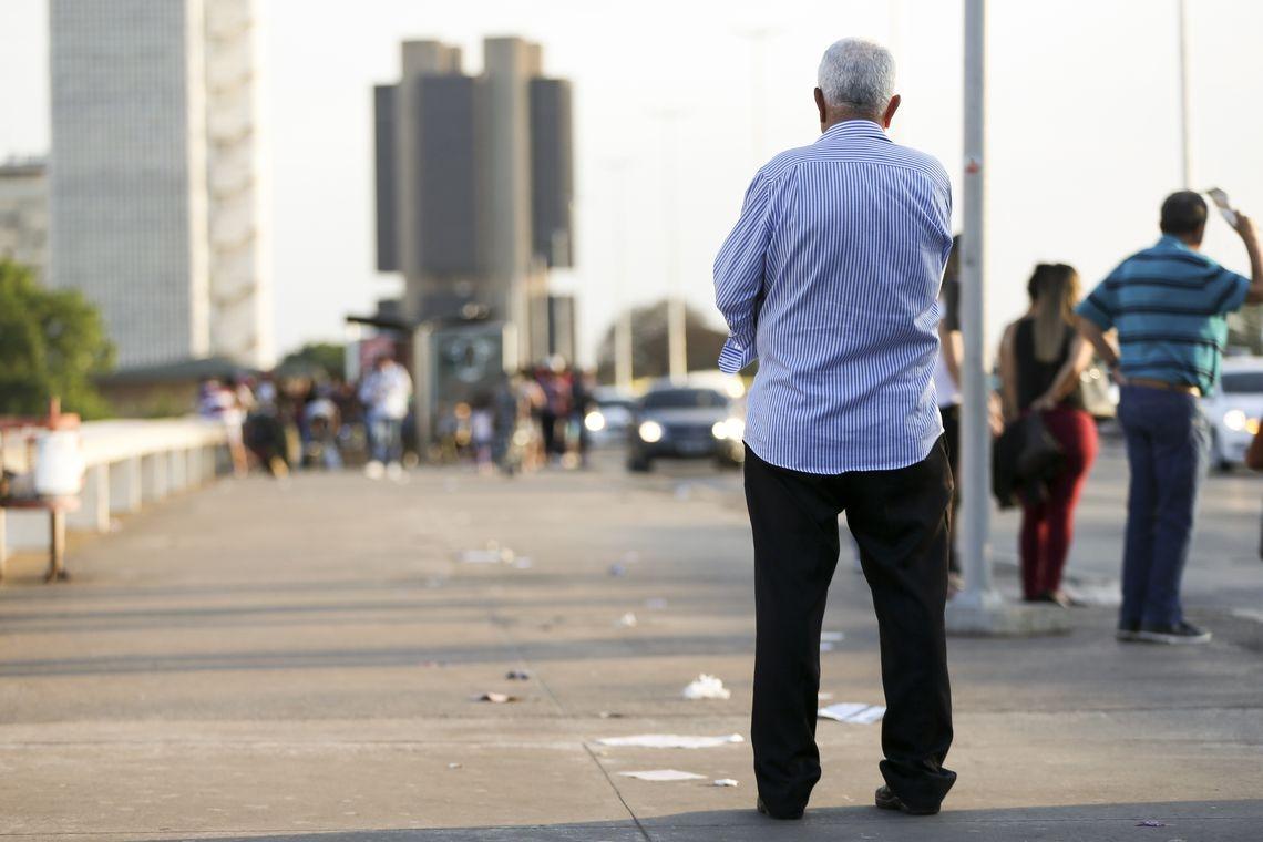Se a proposta do governo for aprovada, brasileirão terão mais dificuldade para aposentar