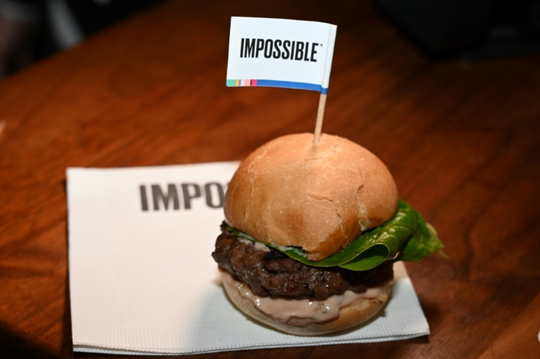 Hambúrguer da start-up Impossible Burger.