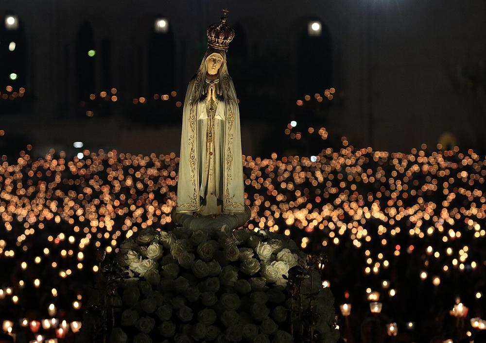 Vigília da peregrinação internacional foi celebrada na noite do dia 12 e contou com a presença do cardeal de Manila, D. Luis Antonio Tagle.