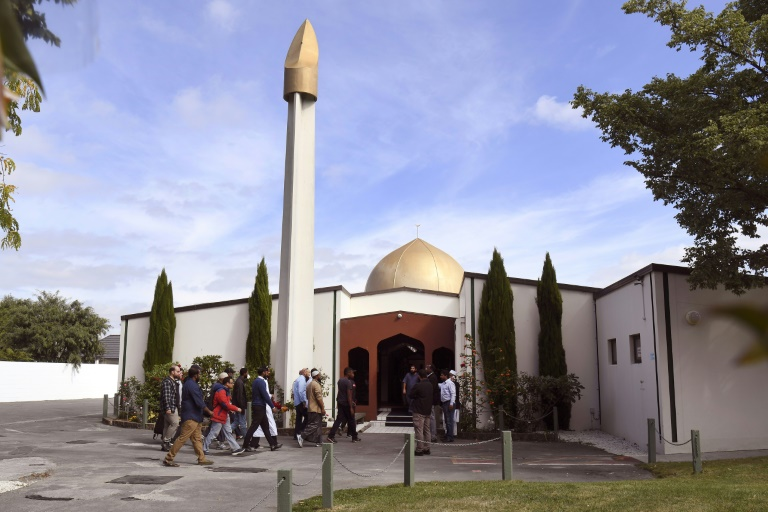 Mesquita de Al Noor atacada na Nova Zelândia.