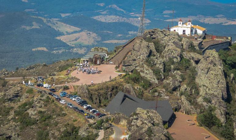 Retomada da mineração na Serra da Piedade foi aprovada em fevereiro.
