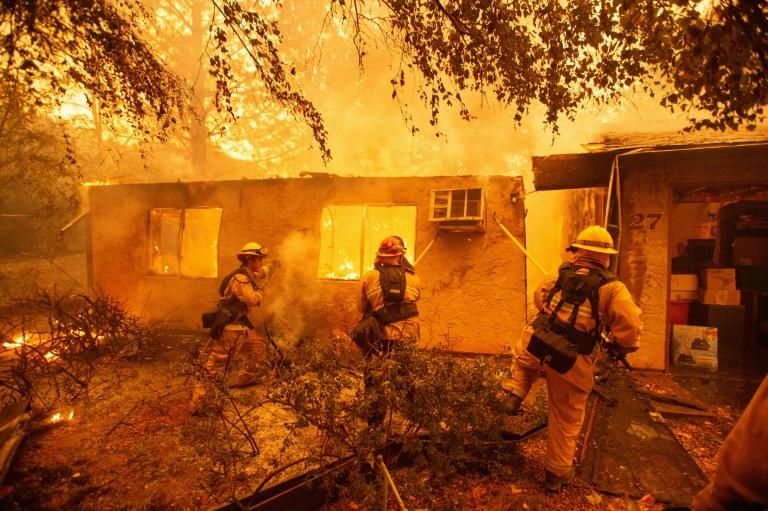 'Camp Fire' ocorreu em 9 de novembro de 2019 em Paradise, Califórnia.
