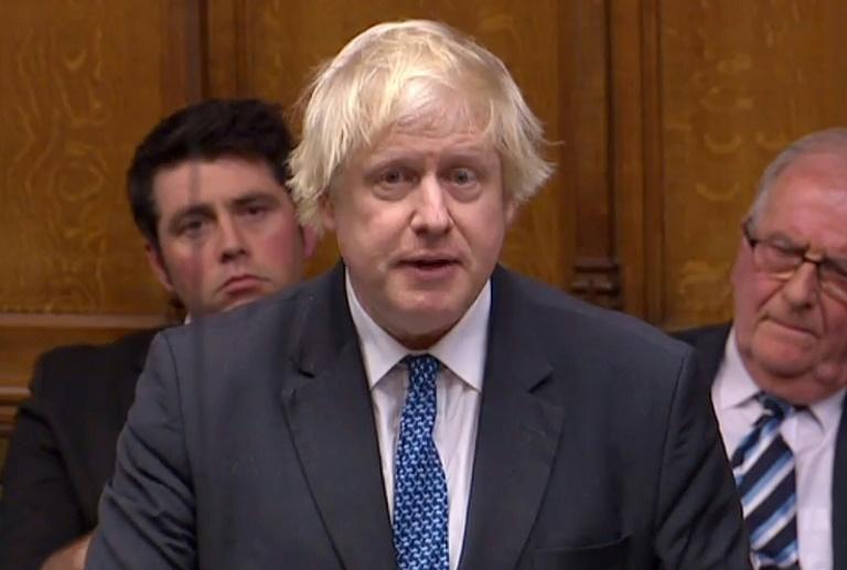 O ex-prefeito de Londres e ex-ministro das Relações Exteriores Boris Johnson fala na Câmara dos Comuns, em Londres, em 4 de dezembro de 2018, em uma imagem retirada da Unidade de Gravação Parlamentar do Reino Unido (PRU)