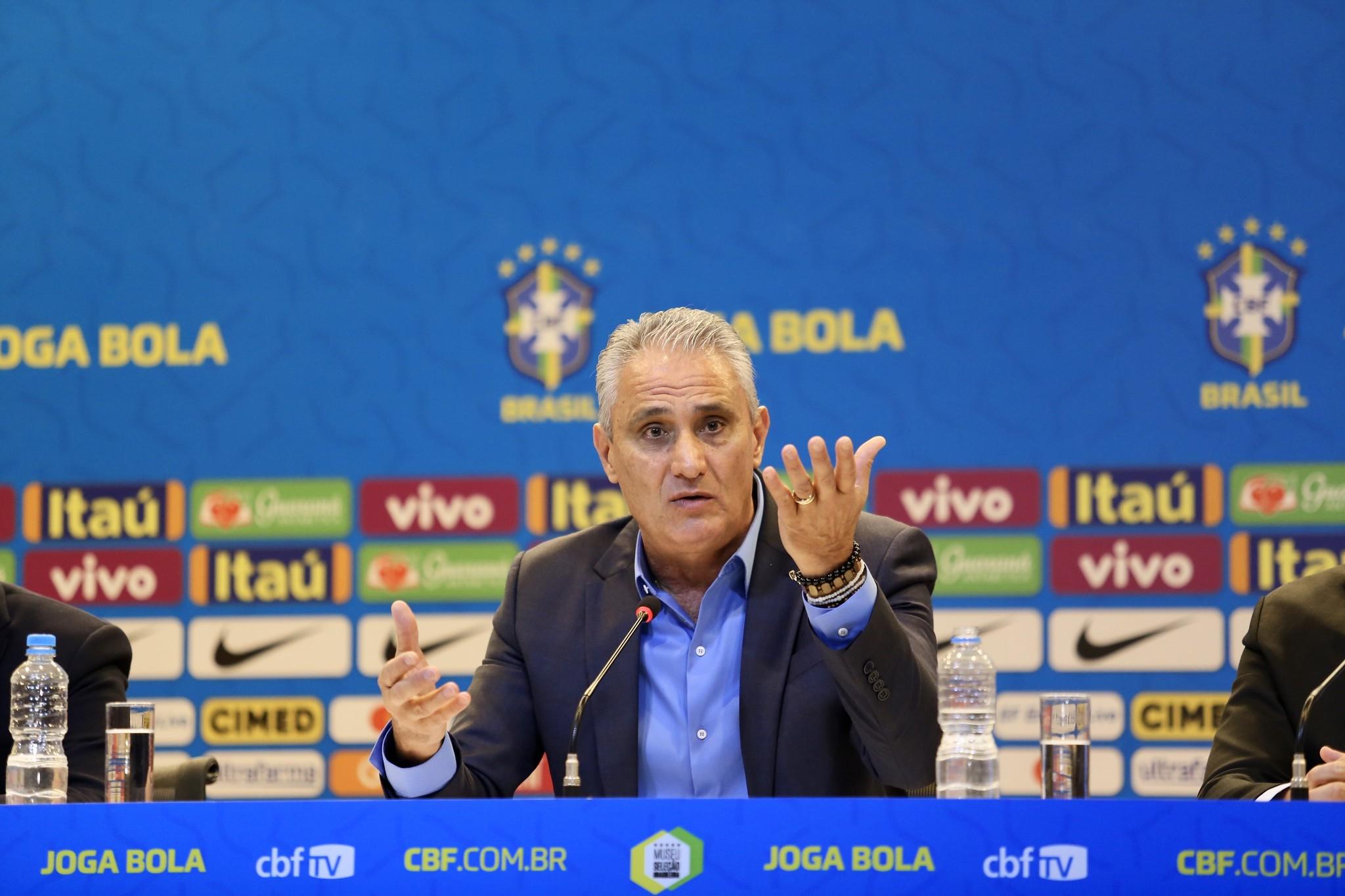 A seleção brasileira começa a se reunir na próxima quarta-feira, na Granja Comary.