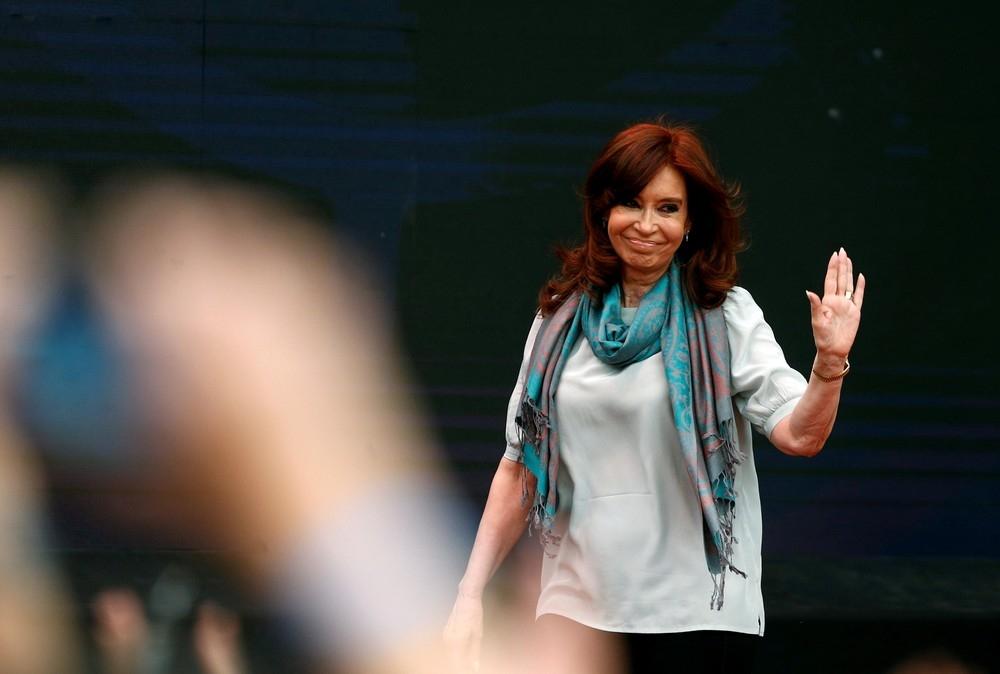 Cristina Kirchner em imagem de novembro de 2018, na Argentina.