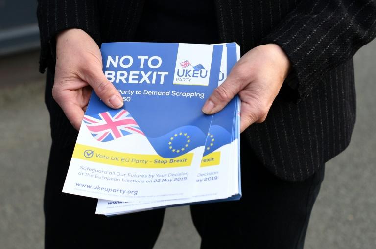 Folheto anti-Brexit