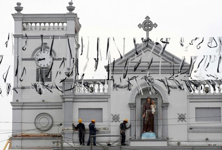 A igreja de Santo Antônio de Colombo, alvo dos atentados do Domingo de Páscoa
