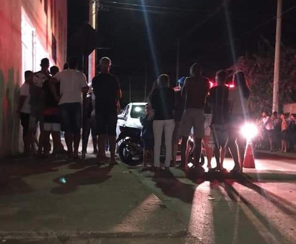 O tenente coronel Luiz Magalhães, do 45º Batalhão da Polícia Militar de Paracatu, disse nesta quarta-feira, 22, que o assassino tinha problemas psiquiátricos e consta registro na polícia por tráfico de drogas.