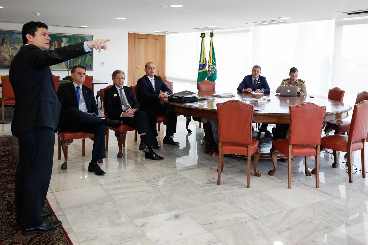 'O presidente deu a declaração com boa intenção', diz Moro