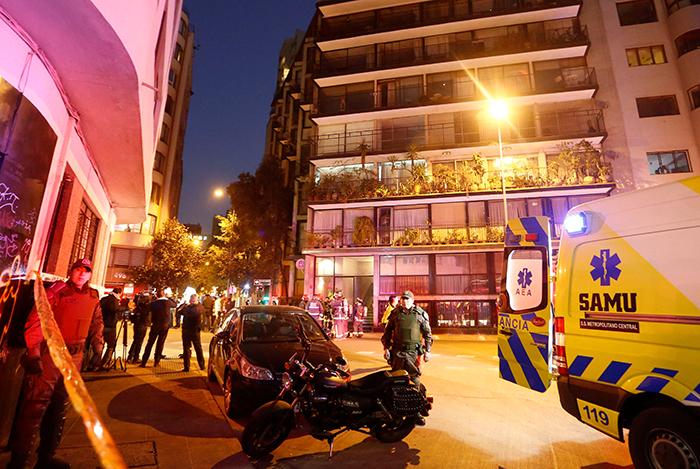 O apartamento alugado pelo aplicativo Airbnb em Santiago não estava com o certificado de uso de gás em dia.