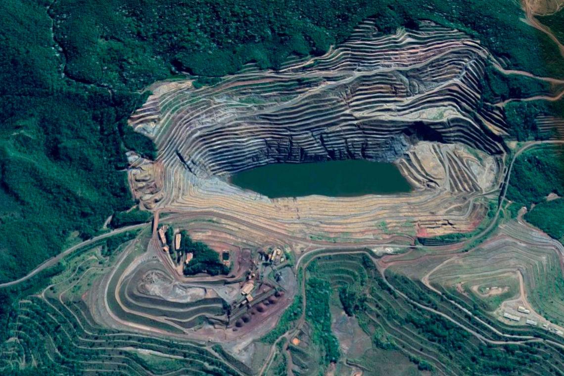 Na previsão da prefeitura de Barão, se romper a mina de Gongo Soco, a lama também deve seguir pelo curso do rio e percorrer cerca de 18 quilômetros.