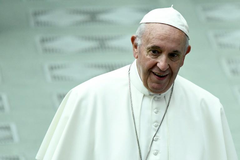 Papa Francisco em 25 de maio de 2019