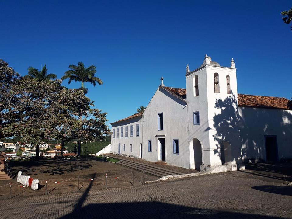 Fachada do Santuário Nacional de São José de Anchieta, localizado na cidade de Anchieta - ES.