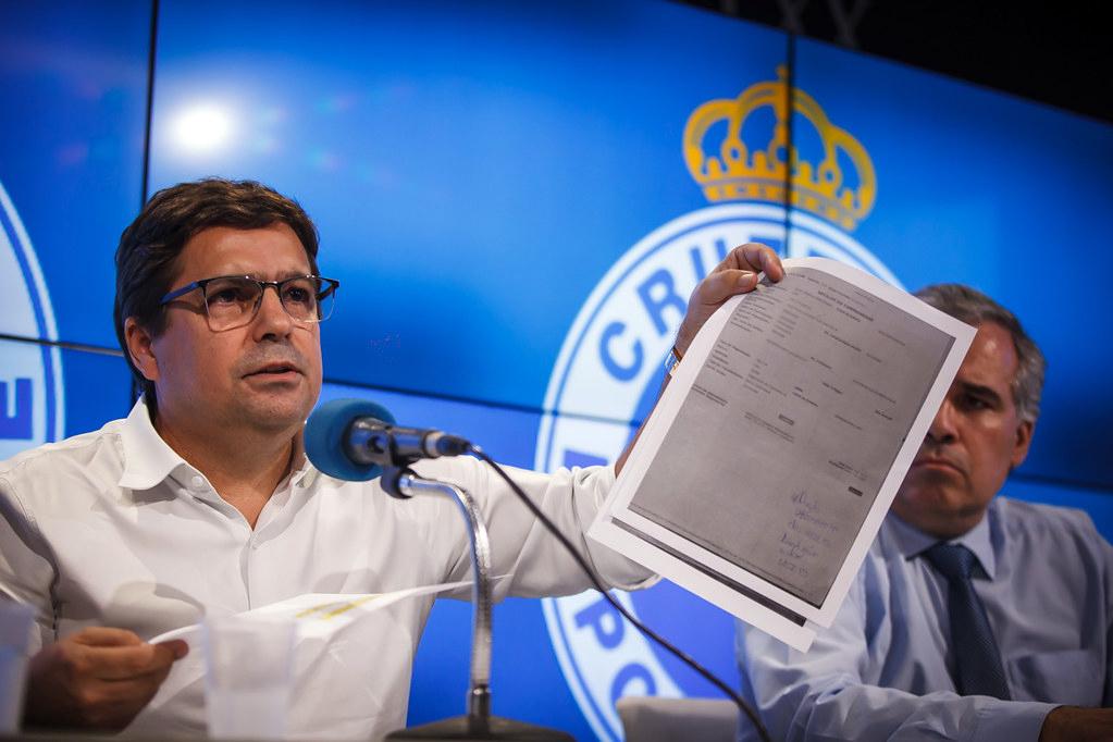 Itair Machado é o pivô da crise no Cruzeiro
