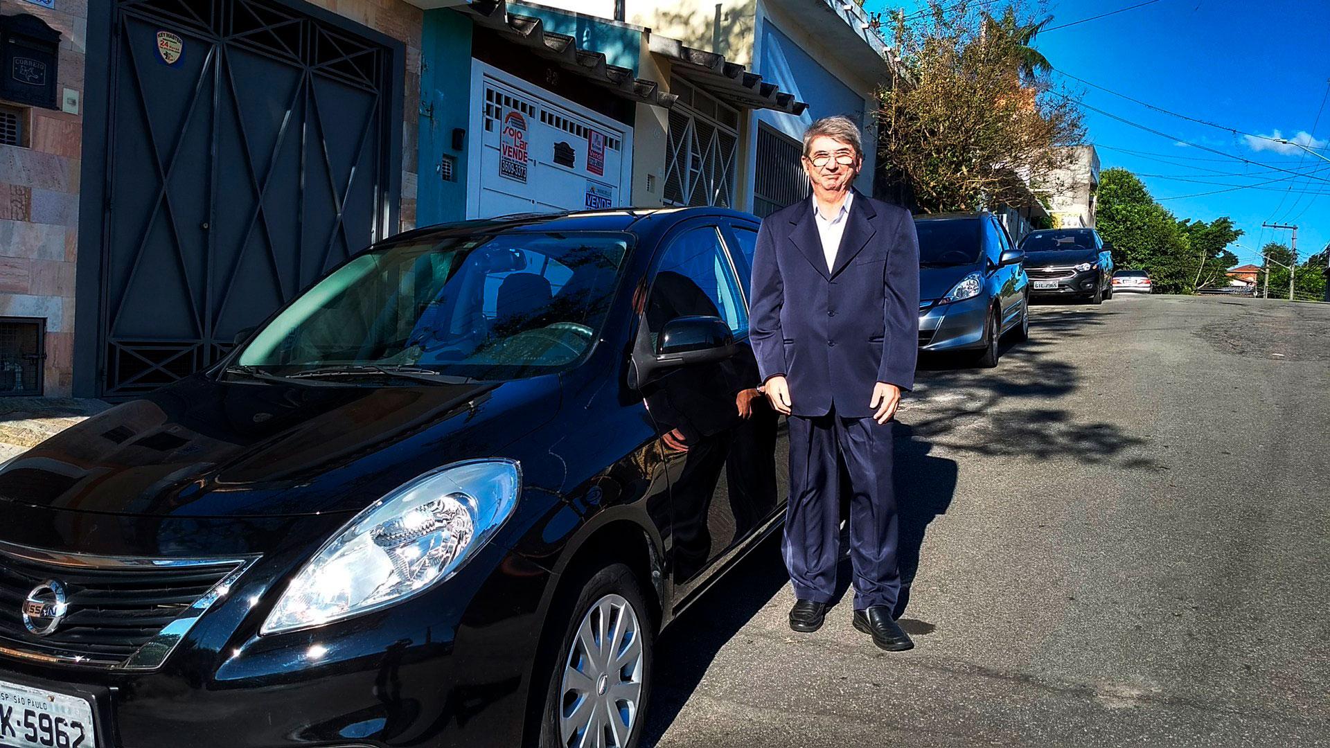Francisco Reis é jornalista e atualmente trabalha como motorista de aplicativo.