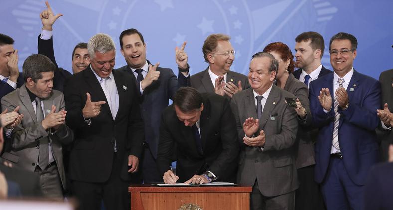 O Estatuto do Desarmamento é uma lei penal em branco. (Marcos Corrêa/PR)