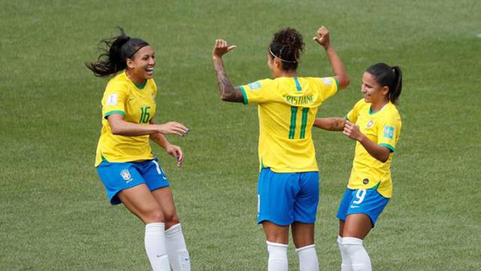Cristiane Brasil Copa do Mundo feminina.