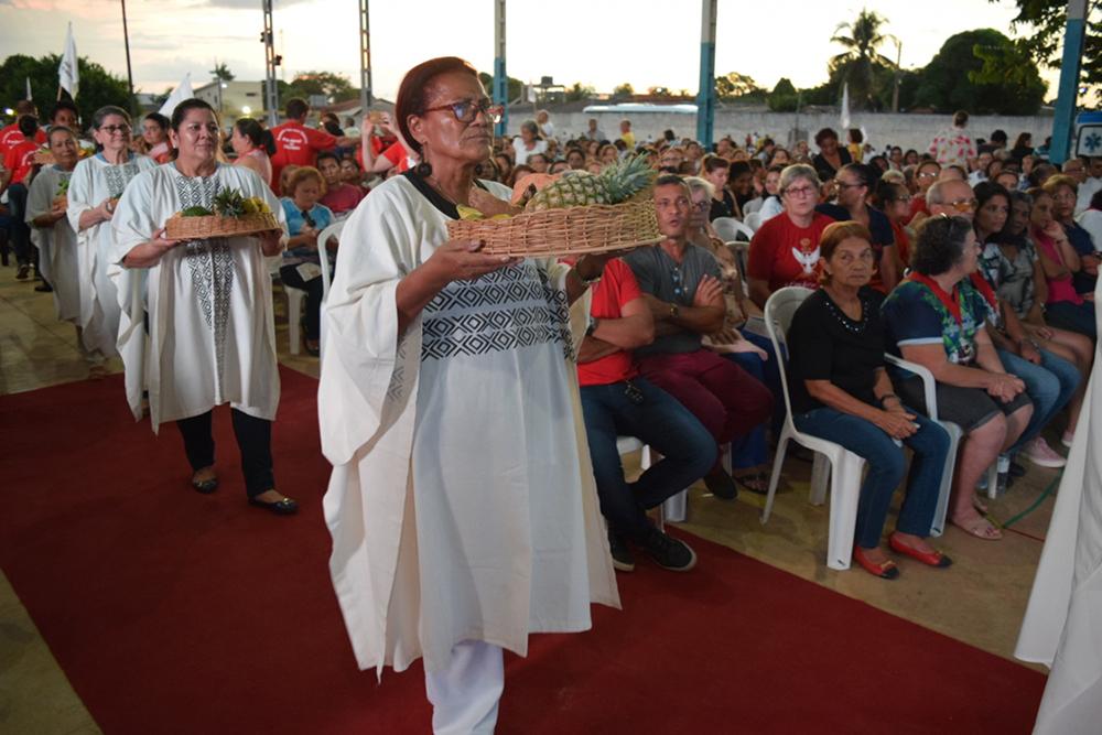 Celebração de Pentecostes da Arquidiocese de Porto Velho.