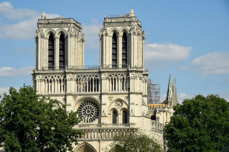 Vista da catedral de Notre-Dame, em Paris (31 mai)