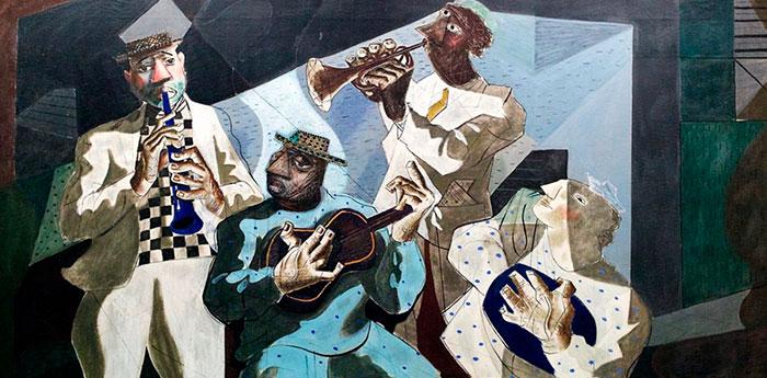 Chorinho, quadro de Portinari de 1942.