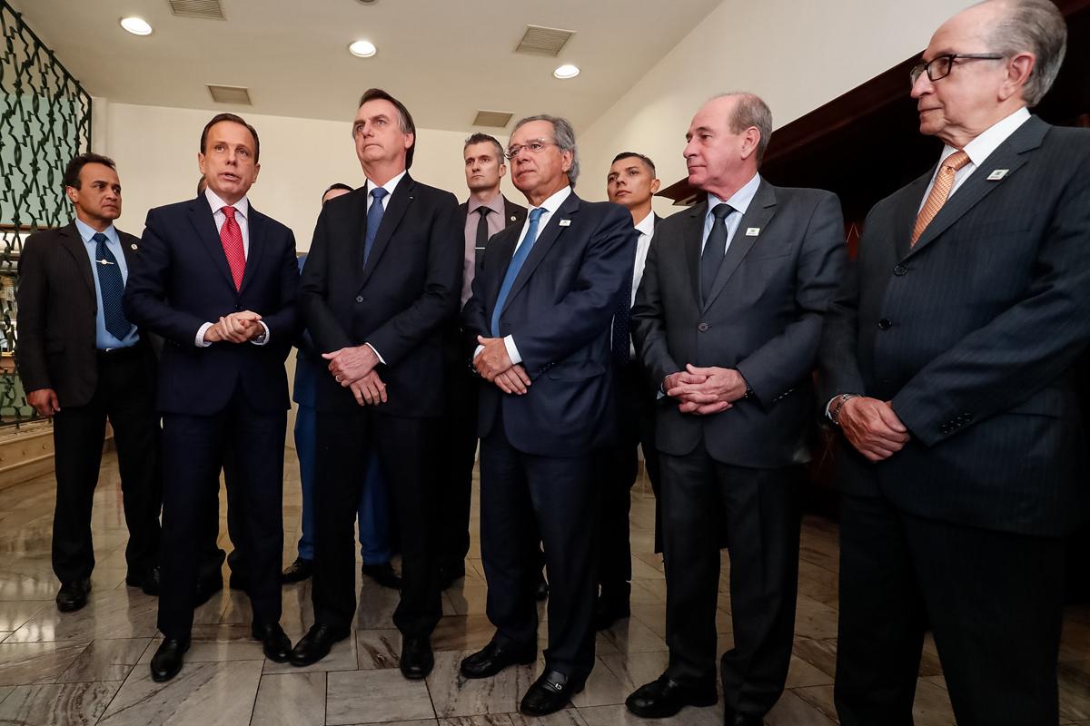 Participaram do encontro 20 dos 27 governadores, além de cinco vice-governadores
