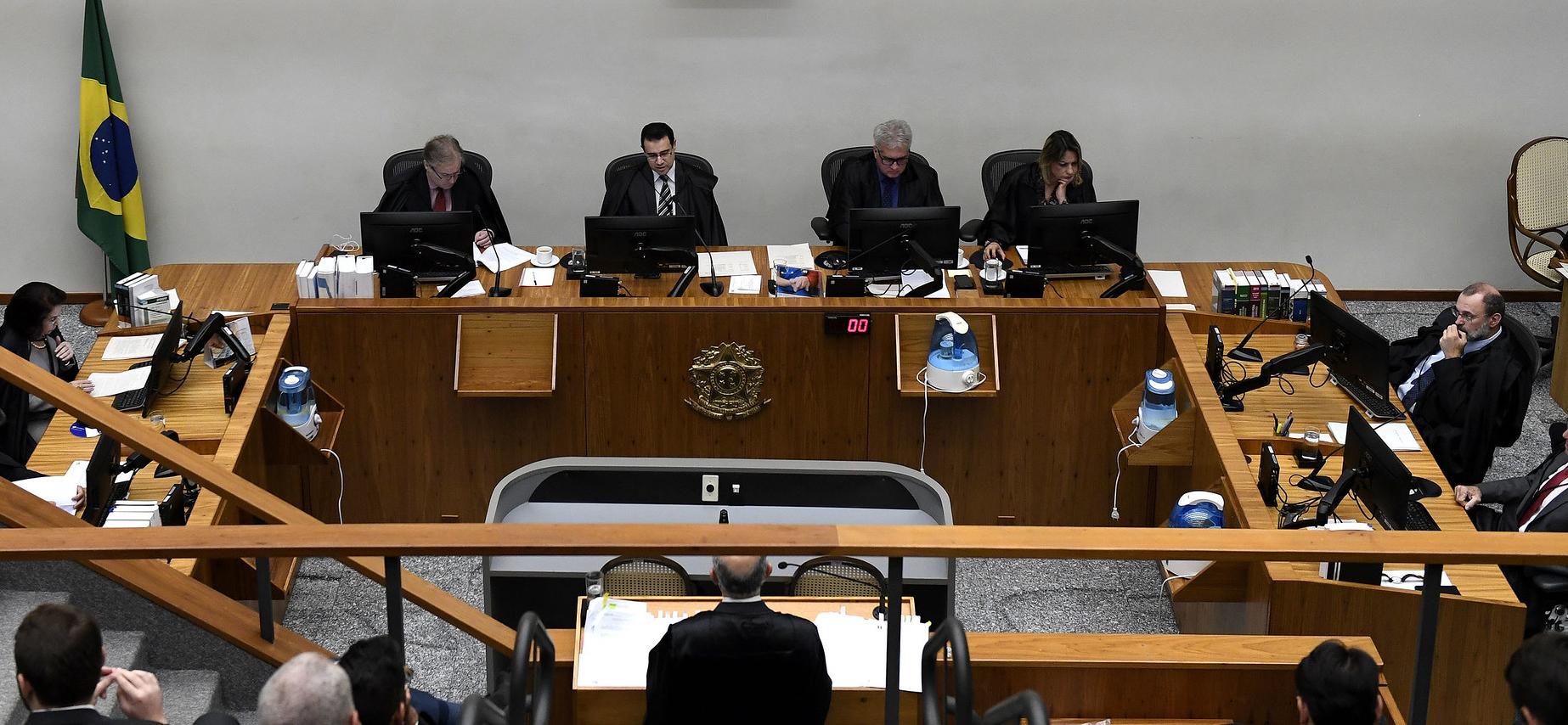 Sessão da 6ª Turma do Superior Tribunal de Justiça