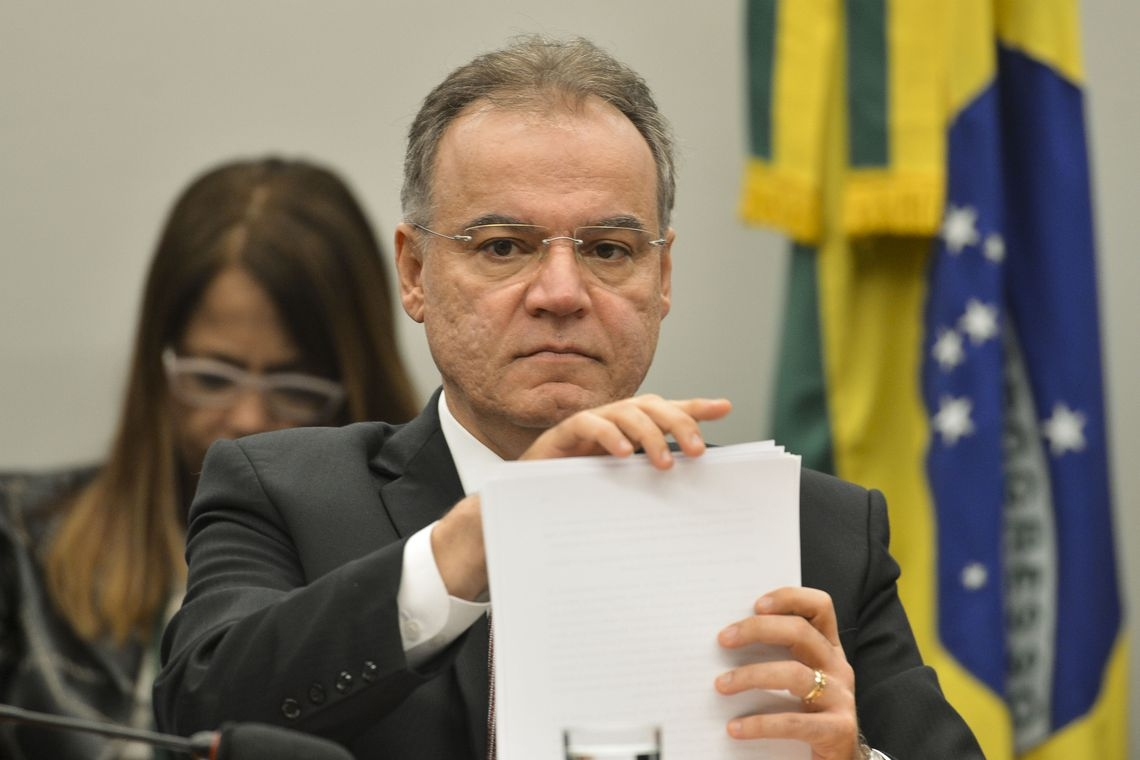 O relator da reforma da Previdência, deputado Samuel Moreira (PSDB-SP).