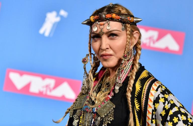 Madonna em 20 de agosto de 2018 em Nova York.