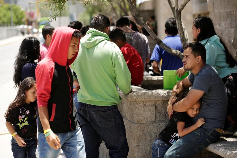No estado de Chiapas, sul do México, o sobrecarregado escritório de ajuda a refugiados já percebeu um aumento nos pedidos de asilo.