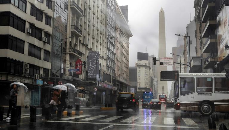 Buenos Aires em 16 de junho de 2019 durante apagão.