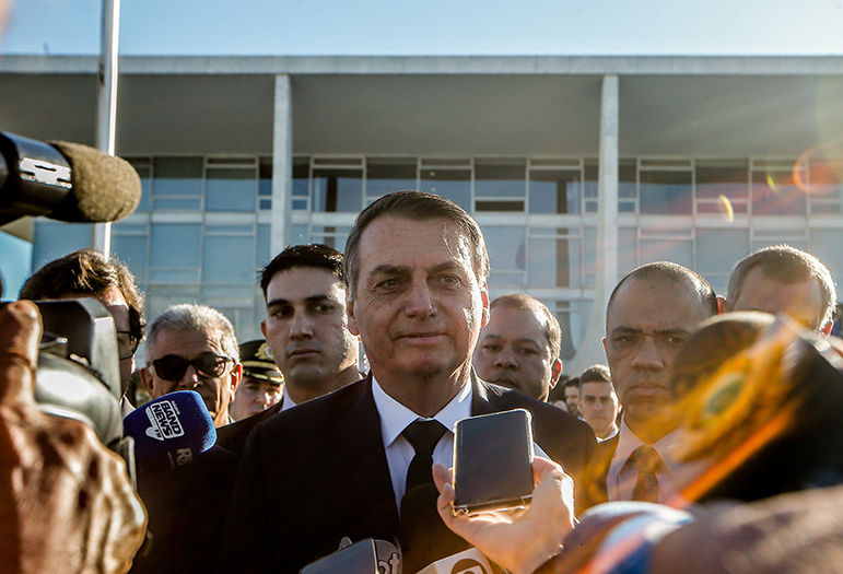Jair Bolsonaro (foto) venceu Fernando Haddad no segundo turno das Eleições 2018.
