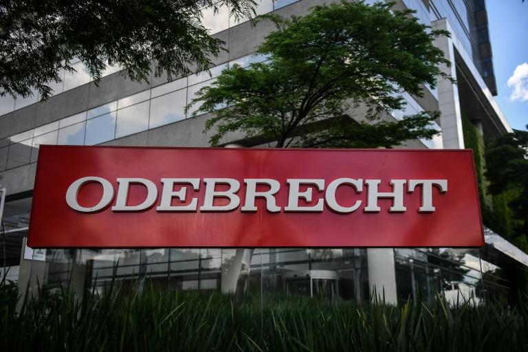 Logo da Odebrecht.