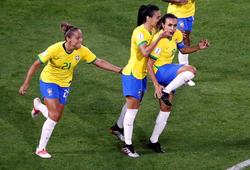 FUT-COPAFEM-FRABRA-OITAVAS:Brasil enfrenta anfitriã França nas oitavas da Copa feminina no domingo
