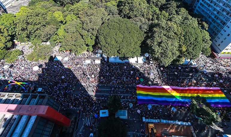 A expectativa da Prefeitura era de reunir três milhões de pessoas no evento.