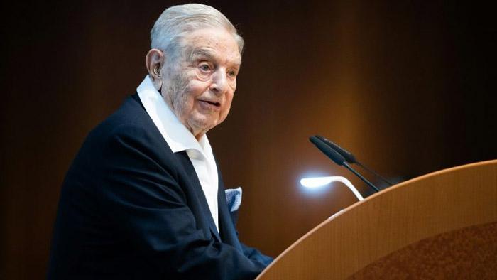 O empresário americano George Soros, um dos 18 signatários da carta.