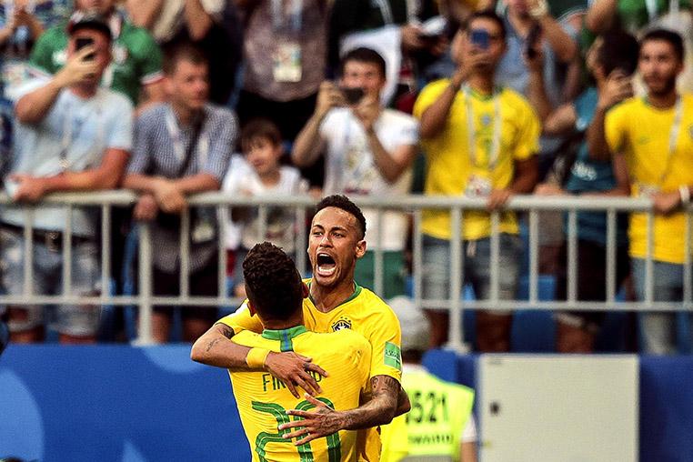 Ao todo, a seleção disputou 46 jogos com Neymar e em outras 14 partidas teve de se virar sem o atacante.