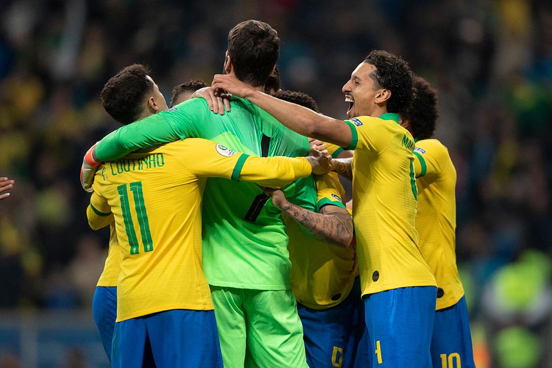 Seleção comandada pelo técnico Tite ganhou fôlego e moral para as semifinal que será disputada no Mineirão.