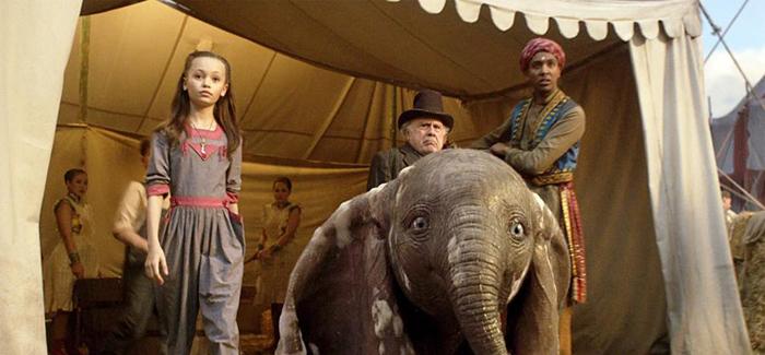 O elefantinho orelhudo vai descobrir que justamente suas orelhas lhe permitem voar.