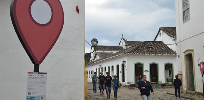 O centro histórico de Paraty está localizado no sul fluminense.