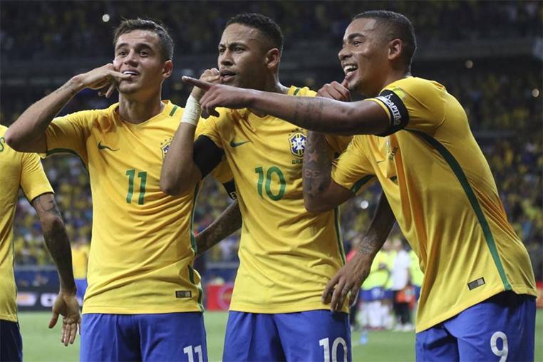 O Brasil derrotou a Argentina no Mineirão em 2016.