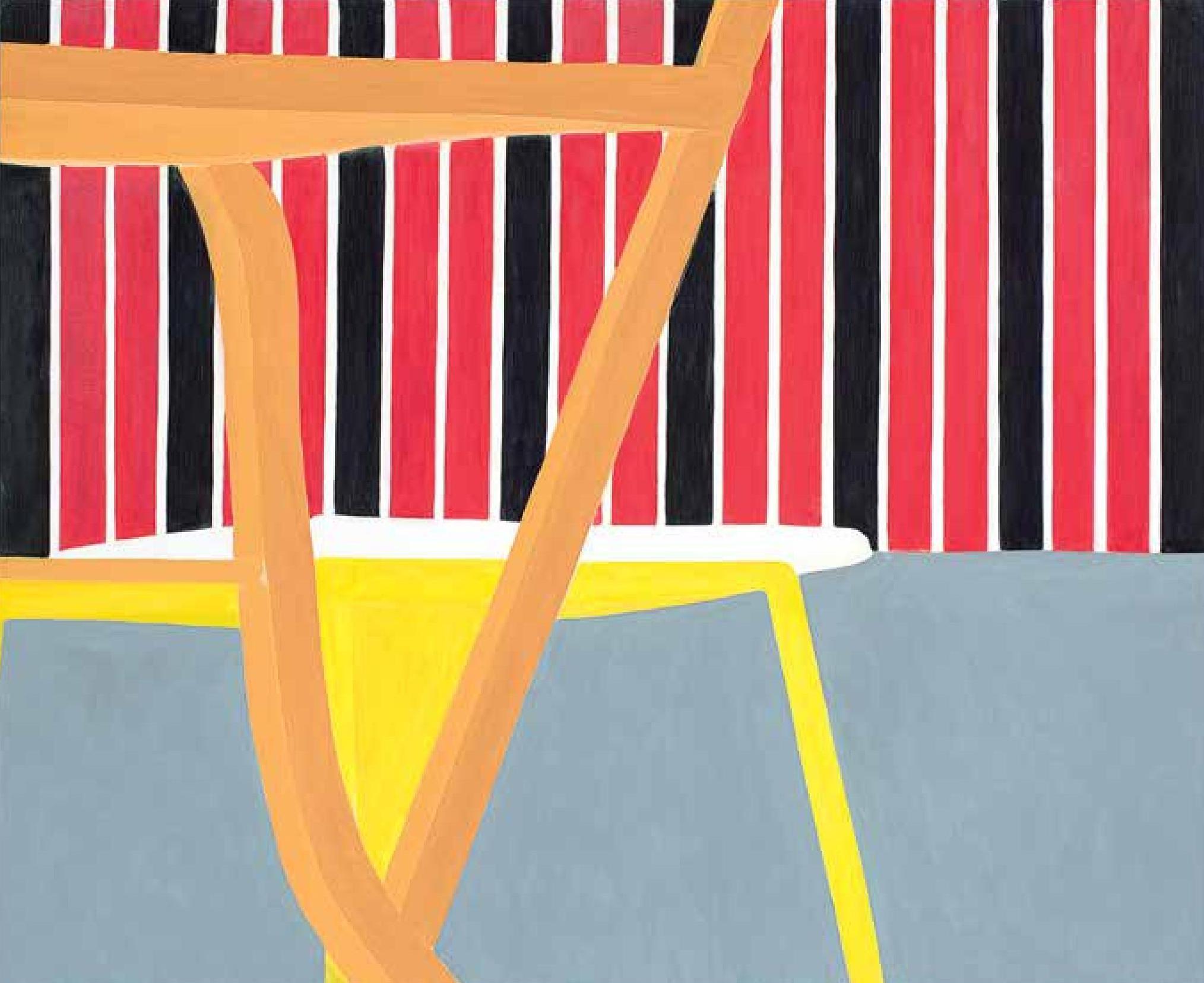 Recortes inusitados e detalhes como esta 'Beira-serra' são frequentes no trabalho da artista