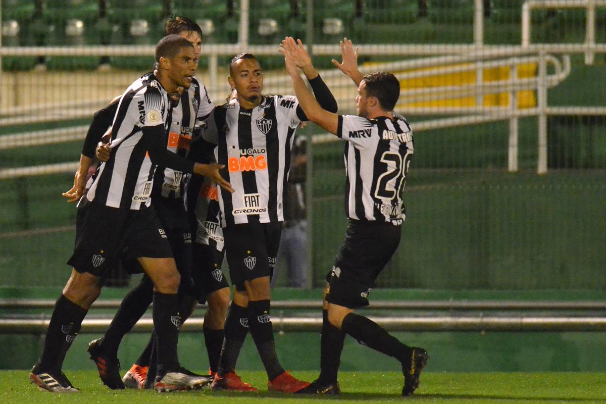 Time reserva do Atlético conquistou os três pontos em Chapecó