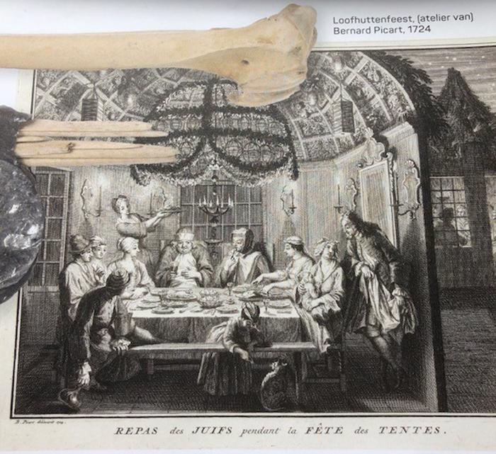 A festa das Cabanas, (ateliê de Bernard Picart, 1724)
